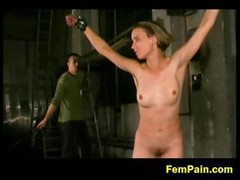 Dirty Bdsm For A Blonde Slave