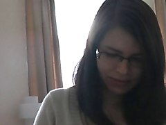 Blonde Timide Danse