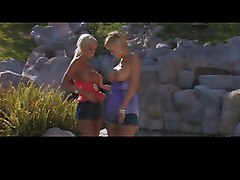 2 hot lesbians Lichelle Marie & Carly Parker