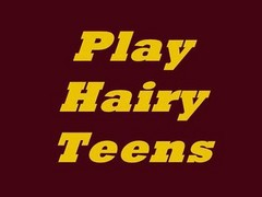 Play Hairy Teens  N15