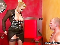 Femdom fetish humiliation slut blowjob and oral