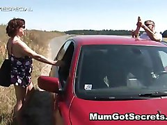 Aroused mother getting her unshaved muf banged part2