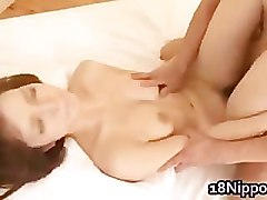 Beautyfull real asian doll gets jizz facial cumshot part4