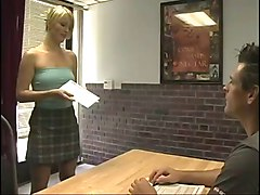 Papa - Blonde Secretary Banged By The Cable Guy