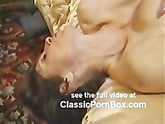 Kay Parker strokes cock