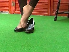 Shoes Feet Stockings Pantyhose X18