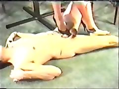 trampling in high heels - old clip 2