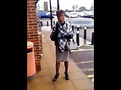master's tranny milf holder smoking public