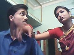 Indian Young Couple On Web Cam