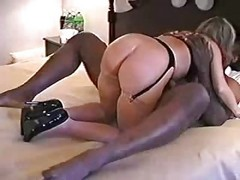Amateur Milf Blonde Interracial Creampie
