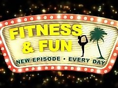 fitness and fun behind the scenes