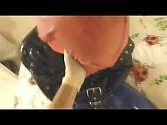 session 1 (part 2) latex bondage breathplay