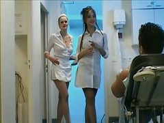 3-way Nurse Handjob