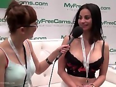 flexible webcam model jacquey azul of mfc talks with harrietsugarcookie avn