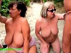 two old british amateurs dogging