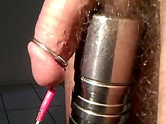 low hanger electro cumshot