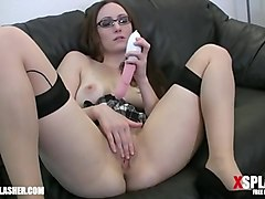 hot milf toys her wet pussy