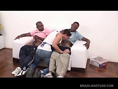 gay latinos pizza boy threesome