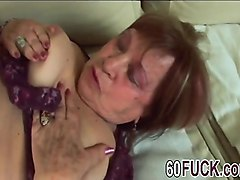 brunette granny fucked hard in her wet cunt