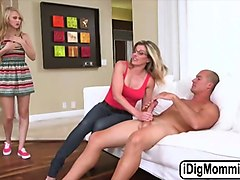 an incredibly hot threesome sex with lily rader and cory chase