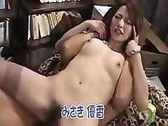 elegant oriental babe reveals her love for hard meat and ha