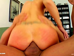 milf mature hottie angelina w fucked hard in gonzo style at milf thing