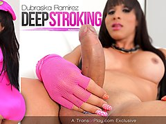 Dubraska Ramirez in Deep Stroking - TransAtPlay