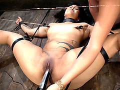 Best fetish xxx video with crazy pornstar Bobbi Starr from Wiredpussy