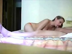 Blowjob In Hotel Room