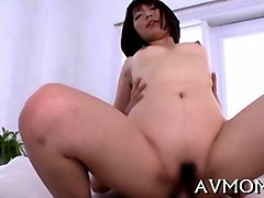 trimmed pussy japanese milf fucked by fit lover