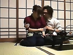 sultry oriental lady has her husband eating out her juicy h