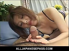 asian milf in lingerie has her old pussy dicked