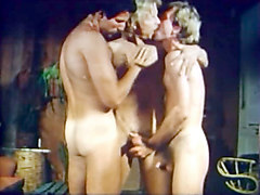 Clay Russell & Dave Daniels in The Golden Age Of Gay Porn - Snowballing Scene 2 - Bromo