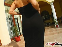 Milf Thing Big titted MILF takes on two in the ass