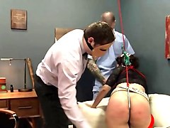 extreme violently fucked bdsm babe with ropes clip