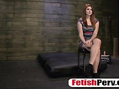 redhead basement casting for bondage hardcore sex scene