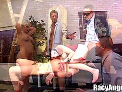 mean cuckolds threesomes riley reid, julie cash, veruca james, aiden starr, dirk huge