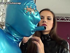 Tanja & Kristina Love in Latex Chain Bondage - FunMovies