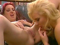 Holly And Hannah Have Double Dildo Fun