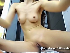 asian anal dildo for cock hungry slut fucks her ass deep and moans