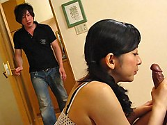 Emiko Koike in Emiko Koike is fucking her step-son and his best friend - AviDolz