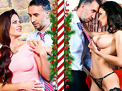 Keiran Lee, Tia Cyrus in Christmas Mistress - DigitalPlayground