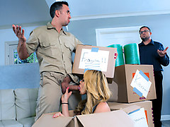 Keiran Lee & Skyla Novea in Moving Day - DigitalPlayground