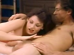 Vintage Threesome Wild Sex Video