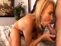 Beautiful hairy blonde milf takes advantage of the pool boy