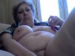 53 yo russian wife is masturbating for your viewing entertainment