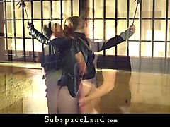 sexual desperation for bound teen slave hogtied for fucking
