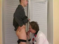 Mature seduced young boy