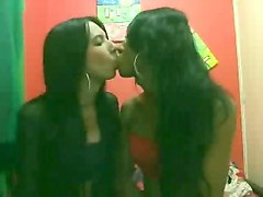 southamerican tgirl lesbians idiot and pull about the cam
