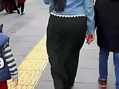 hijab turkish kopftuch ass walk 2